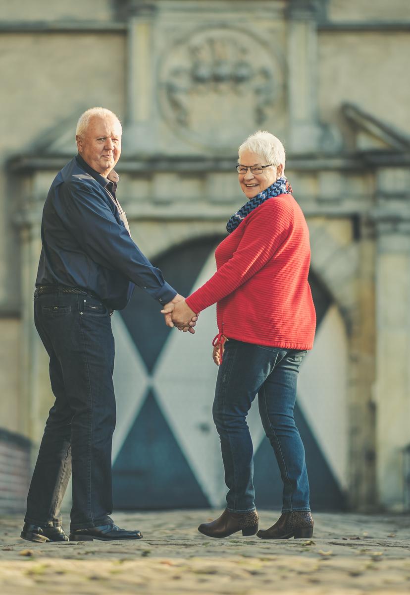 Jutta und Josef Klaverkamp am 29.09.2018 in Ascheberg
