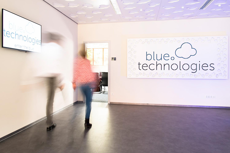 Innenaufnahmen der Blue Technologies am 03.09.2018 in Everswinkel.